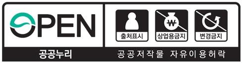 """""""출처표시+상업적 이용금지+변경금지"""""""