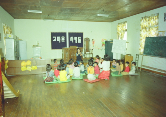 Nursery at Baekje-eup (1980s -1)