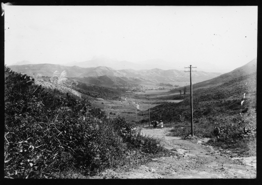 Goyang-dong and Hyeeumryeong Hill during Japanese colonial era